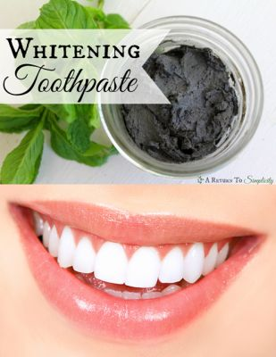The Homestead Survival | Homemade Natural Whitening Toothpaste Recipe | http://thehomesteadsurvival.com
