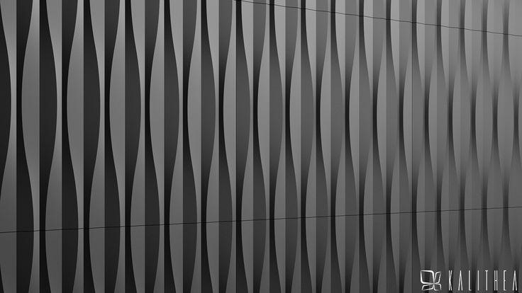 Sandglass wall panel. www.kalithea.pl