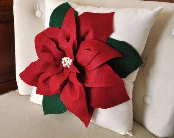 holiday decor christmas pillow – Etsy