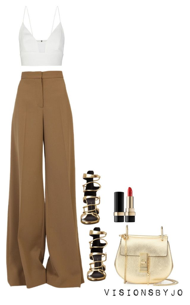 Untitled #1327 by visionsbyjo on Polyvore featuring polyvore fashion style Narciso Rodriguez STELLA McCARTNEY Giuseppe Zanotti Chloé Dolce&Gabbana women's clothing women's fashion women female woman misses juniors