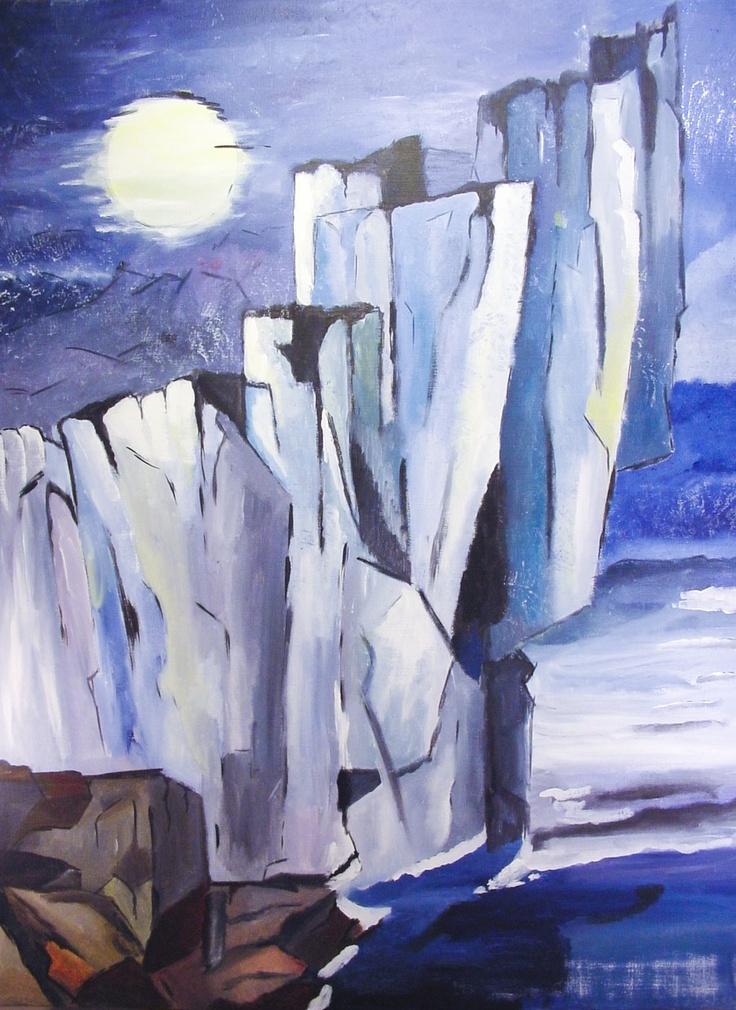 Moonrising, 120 x 90
