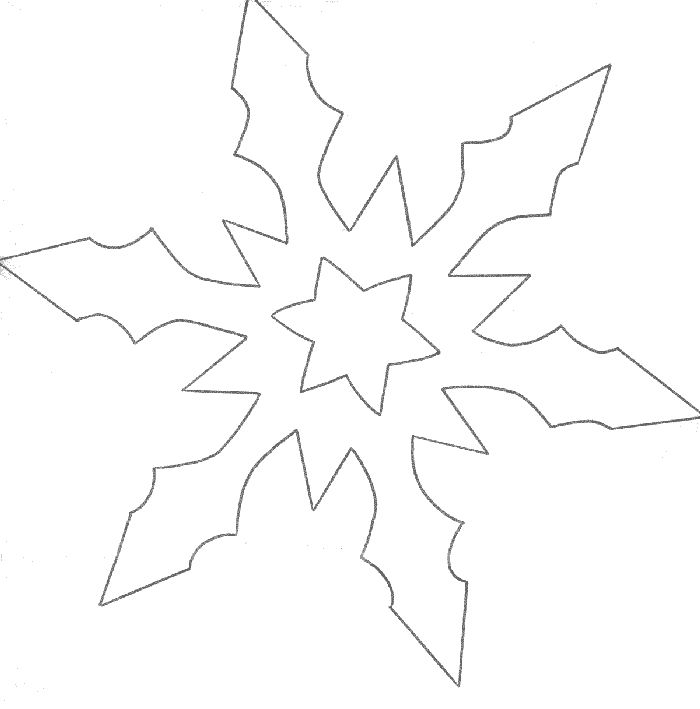 1000 id es propos de flocon de neige dessin sur - Flocon de neige en papier pliage ...