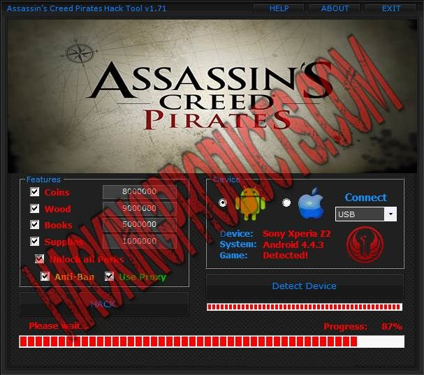Assassins Creed Pirates Hack