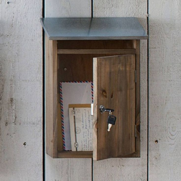 Wooden Post: 73 Best Wood Mailboxes Images On Pinterest