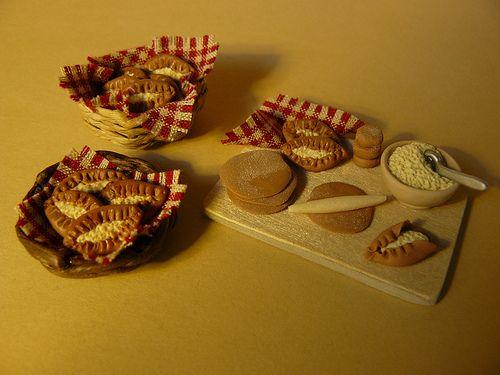 Miniature Karelian pasties handmade by Nallemama.