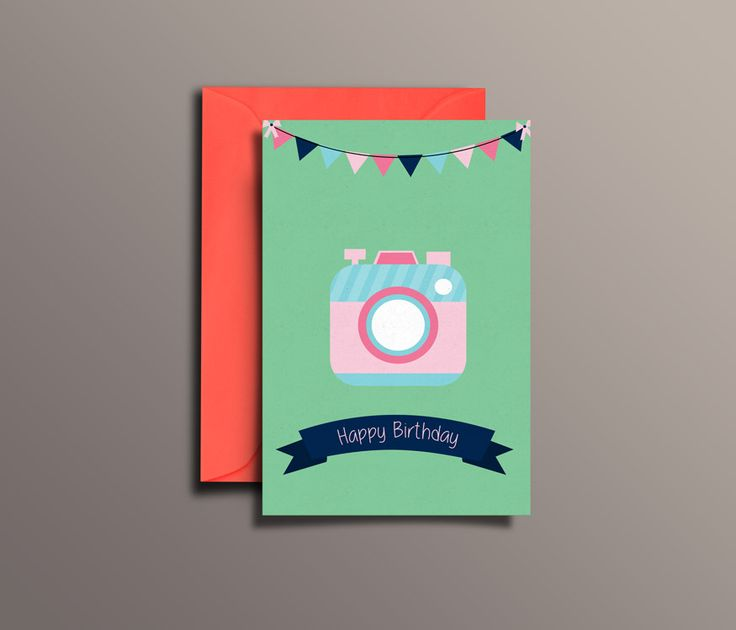 24 best Greeting Cards images – Photographer Birthday Card