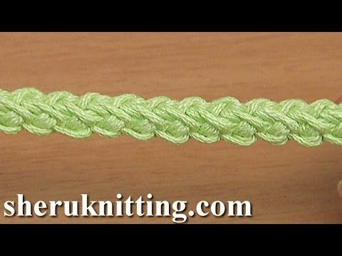 Crochet Cords For Lace Projects  Tutorial 107 Cord Patterns - YouTube
