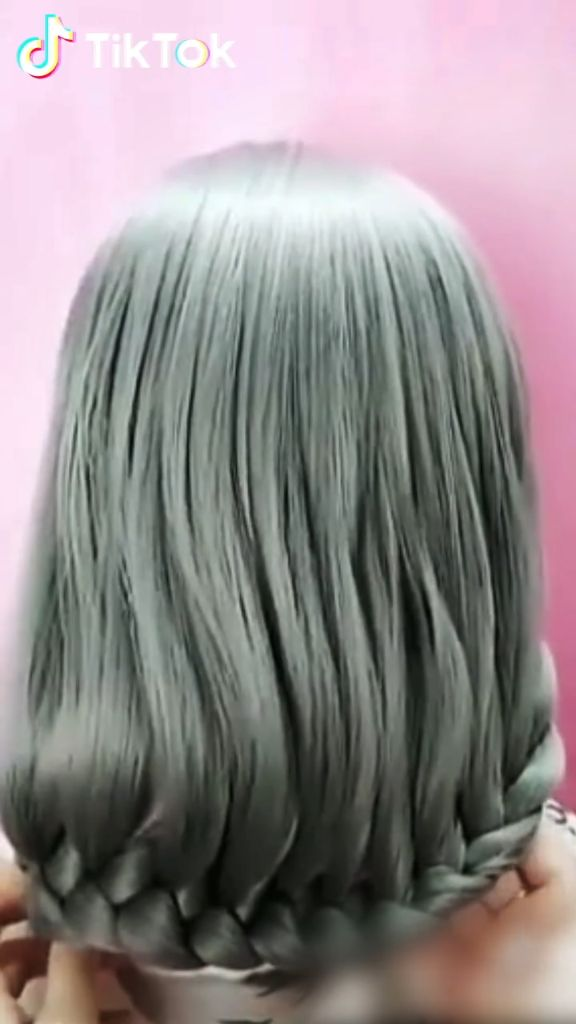 Super easy to try a new #hairstyle ! Download #TikTok today to find more hairstyle videos. Also ...