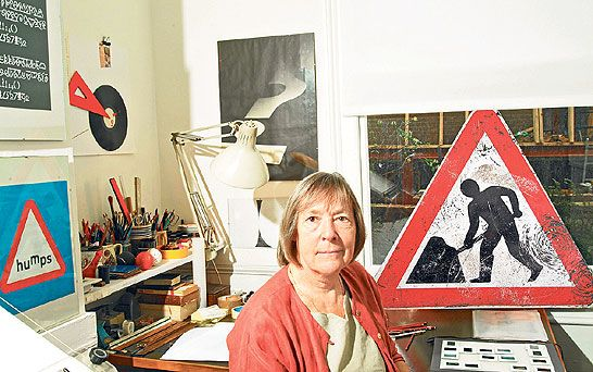 Every traveler along any of the UK's roadways is familiar with the work of Margaret Calvert.  In collaboration with Jock Kinneir, Calvert developed the graphics and typography program for the M1 in the fifties before it was introduced to the entire country in the sixties.   Influential Women in Industrial & Graphic Design
