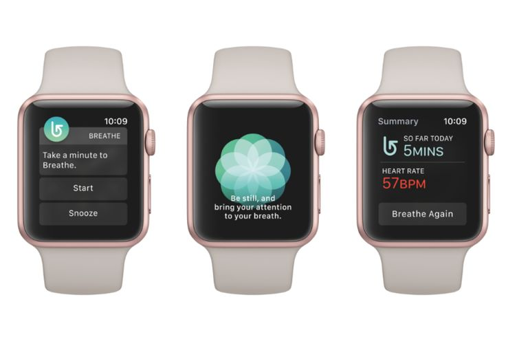 The Apple Watch's Breathe app is simply breathtaking | Stuff. I have this and use it, and in the quest to go all natural am leaning on it a bit.