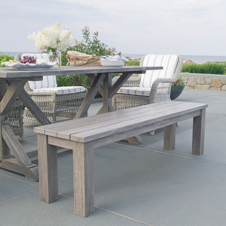 Kingsley Bate Valhalla 5 39 Backless Bench Kingsley Bate Pinterest Colors The Grey And The