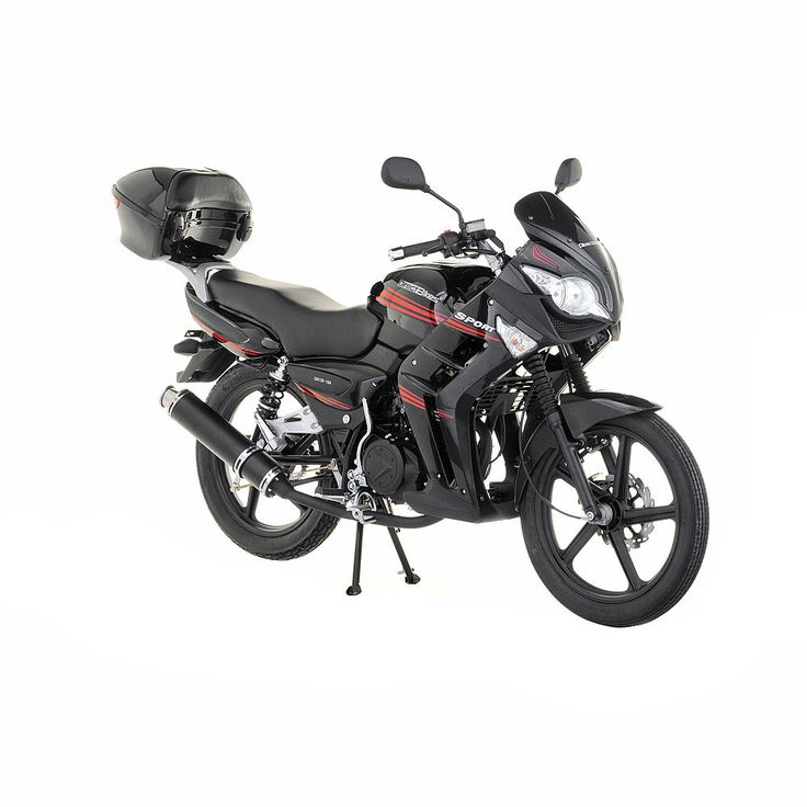 Motorbikes For Sale: 125cc Motorbikes For Sale, Buy Motorbikes Sports RS Motorbike Black