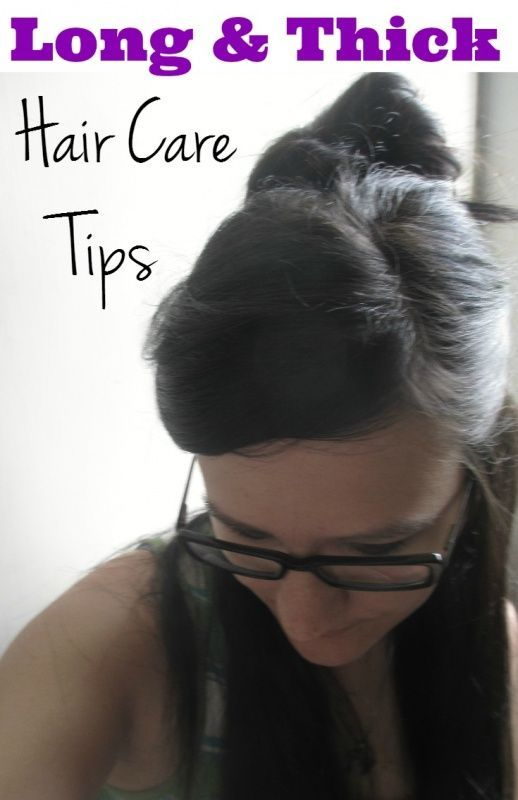 Thick hair problems? Tips and advice for long thick hair care & products