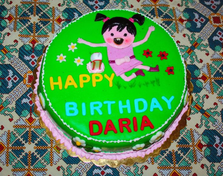 Little Lola fondant cake