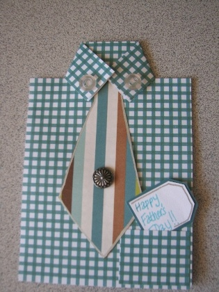 Father's Day Craft: Formal Greetings (Father's Day Card) Comments | Father's Day Card Ideas for Kids -- Homemade Cards | FamilyFun