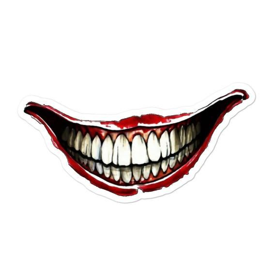 Joker Smile Mouth Png
