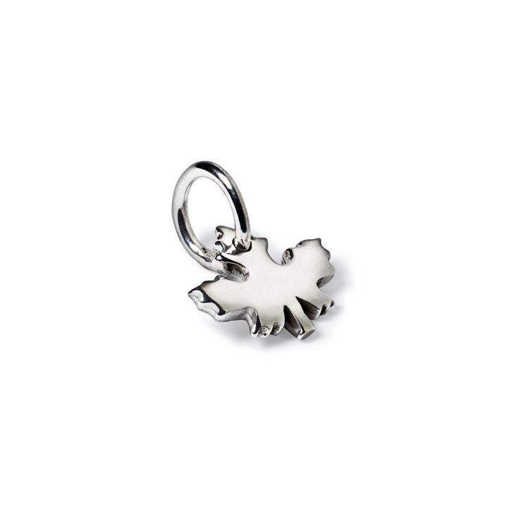 Skarsten Maple Leaf - Celebrate your  Canadian heritage with this simple and beautiful Skarsten maple leaf charm. This charm can be added to any bracelet or charm necklace and can be personalized with an initial.