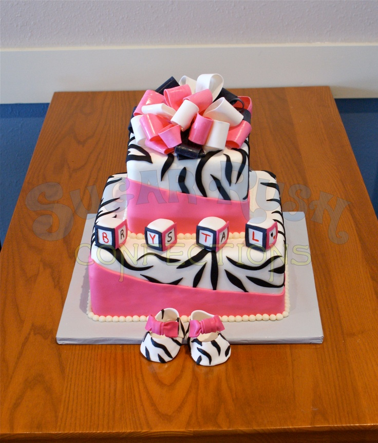 Pink and Zebra Baby Shower