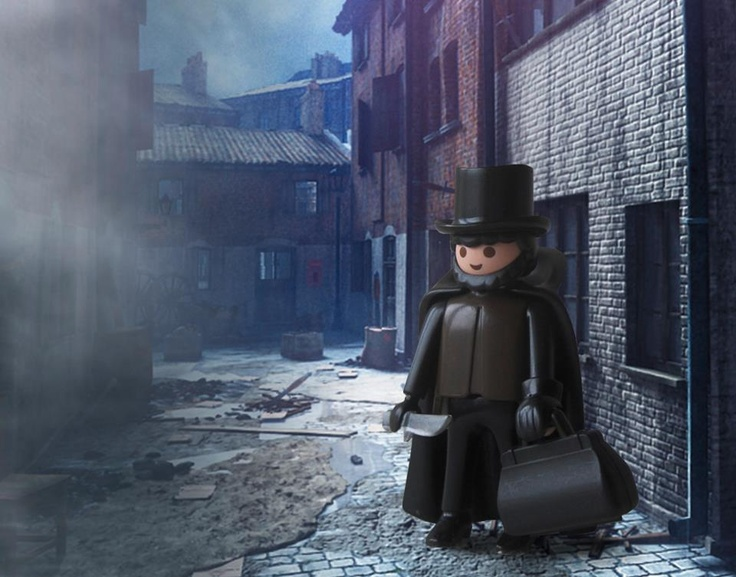HISTORY OF MANKIND playmobil ~ Jack the Ripper