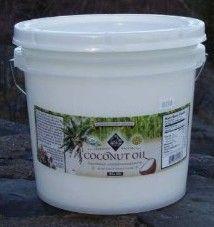 Prepper food..... Coconut oil. Lots of it.