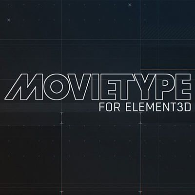 Motionworks MovieType for Element 3D