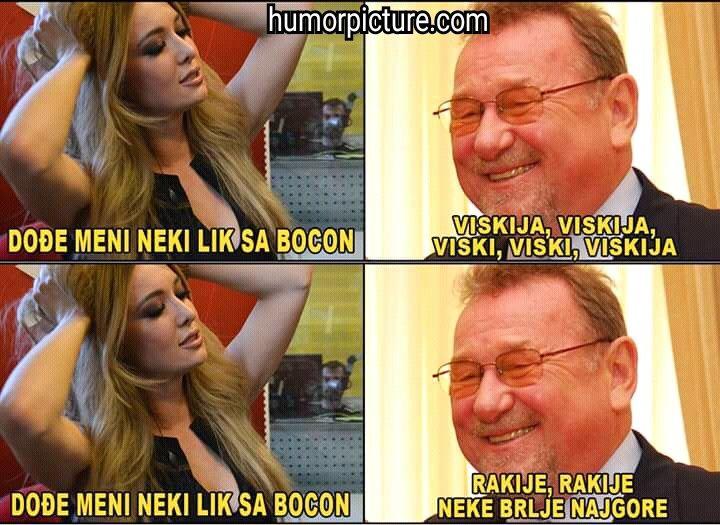 Lida i Šeki #lidaišeki #lidijabačić #vladimiršeks #viski #rakija #humor #šala #vicevi #smiješneslike Smiješne slike i vicevi na humorpicture.com - http://humorpicture.com/lida-i-seki-lidaiseki-lidijabacic-vladimirseks-viski-rakija-humor-sala-vicevi-smijesneslike-smijesne-slike-i-vicevi-na-humorpicture-com/
