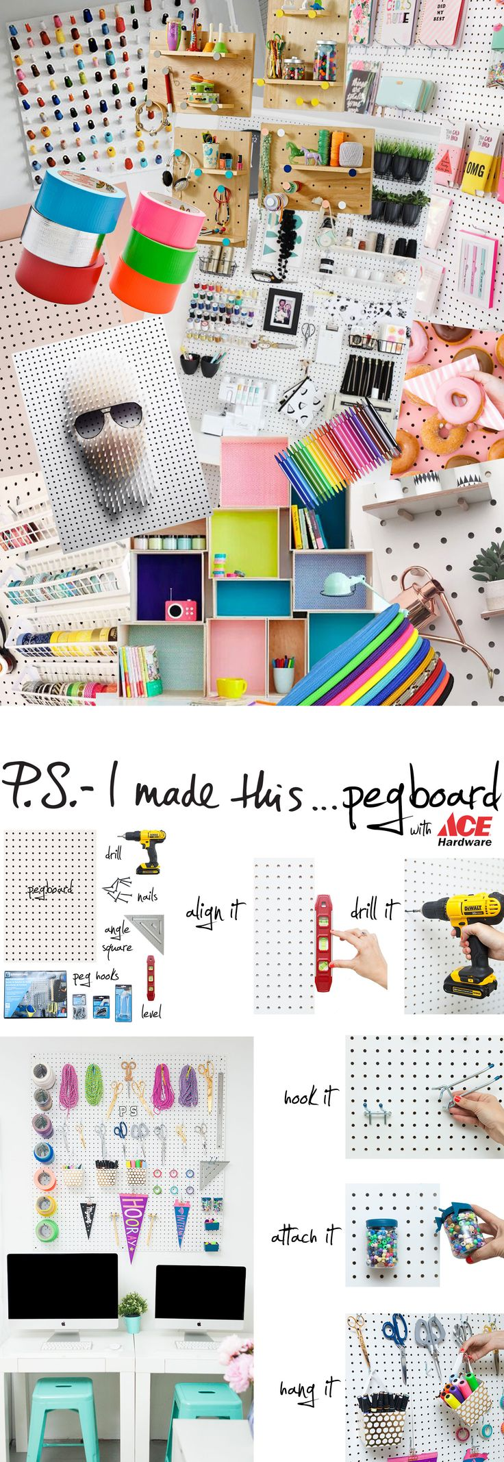 Pegboard «  P.S. – I Made This…