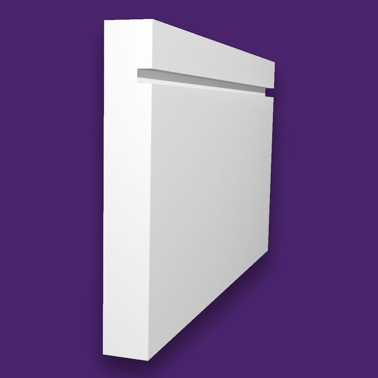 Single Square Groove Quality Primed Moisture Resistant MDF Skirting Board