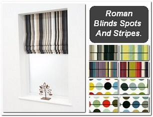 A great collection of modern roman blinds printed on a quality panama fabric. Complete with a durable aluminium headrail these roman blinds are great for lifting the decor in any room.