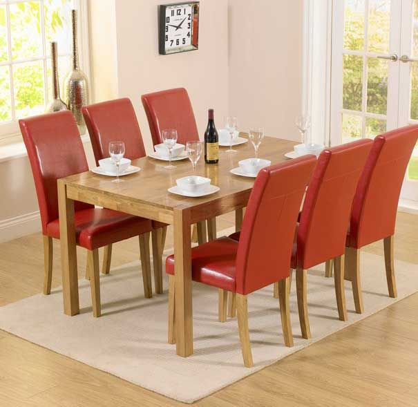17 Best Ideas About Solid Oak Dining Table On Pinterest Mesas Steel Table And Steel Furniture