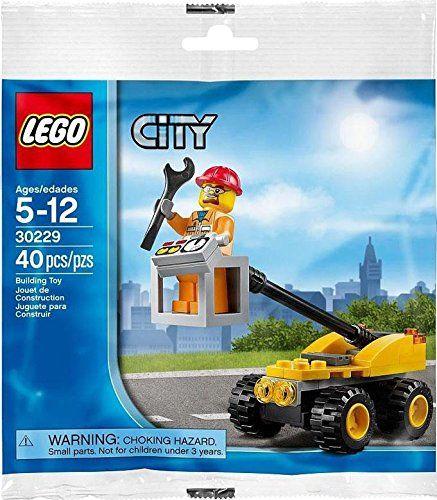 LEGO City: Cherry Picker Repair Lift Jeu De Construction 30229 (Dans Un Sac): Amazon.fr: Jeux et Jouets