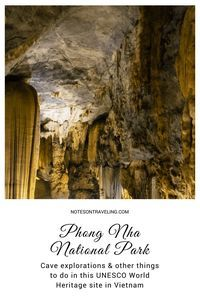 The thick vegetation and hundreds of caves ensured Vietnam's Phong Nha-Ke Bang National Park a spot on the UNESCO World Heritage list. Here's my short introduction to some of the activities in Phong Nha - from the caves to the Botanical Garden amidst the