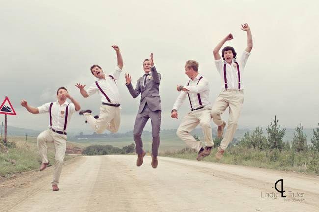 goofy groomsmen