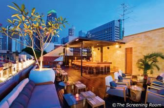 Night 1. Screening Room Singapore - There's no better place to spend a night in Singapore where one can enjoy a movie with a plate of Baklava, see the view of the city, and have a nice chat over exotic cocktails. #SGTravelBuddy