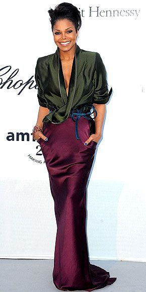 You go Janet! I've always loved formal skirts paired with a menswear top. This is a great, colorful and sculptural take on that look.