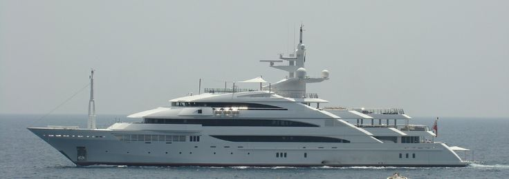 superyacht Amevi - owned by Lakshmi Mittal