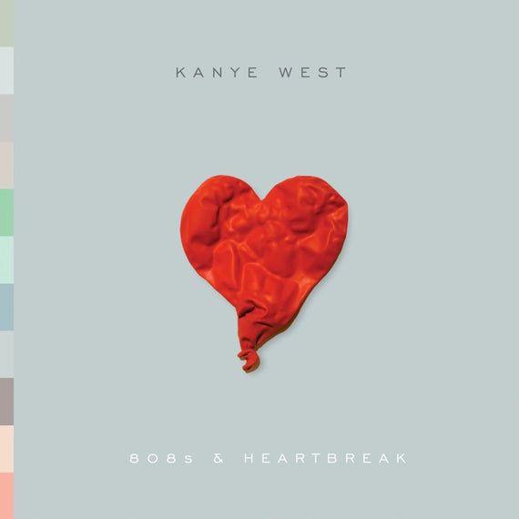 Poster Kanye West 808 Heartbreak Album Cover In 2020 Kanye West Albums 808s Heartbreak Kanye West Album Cover