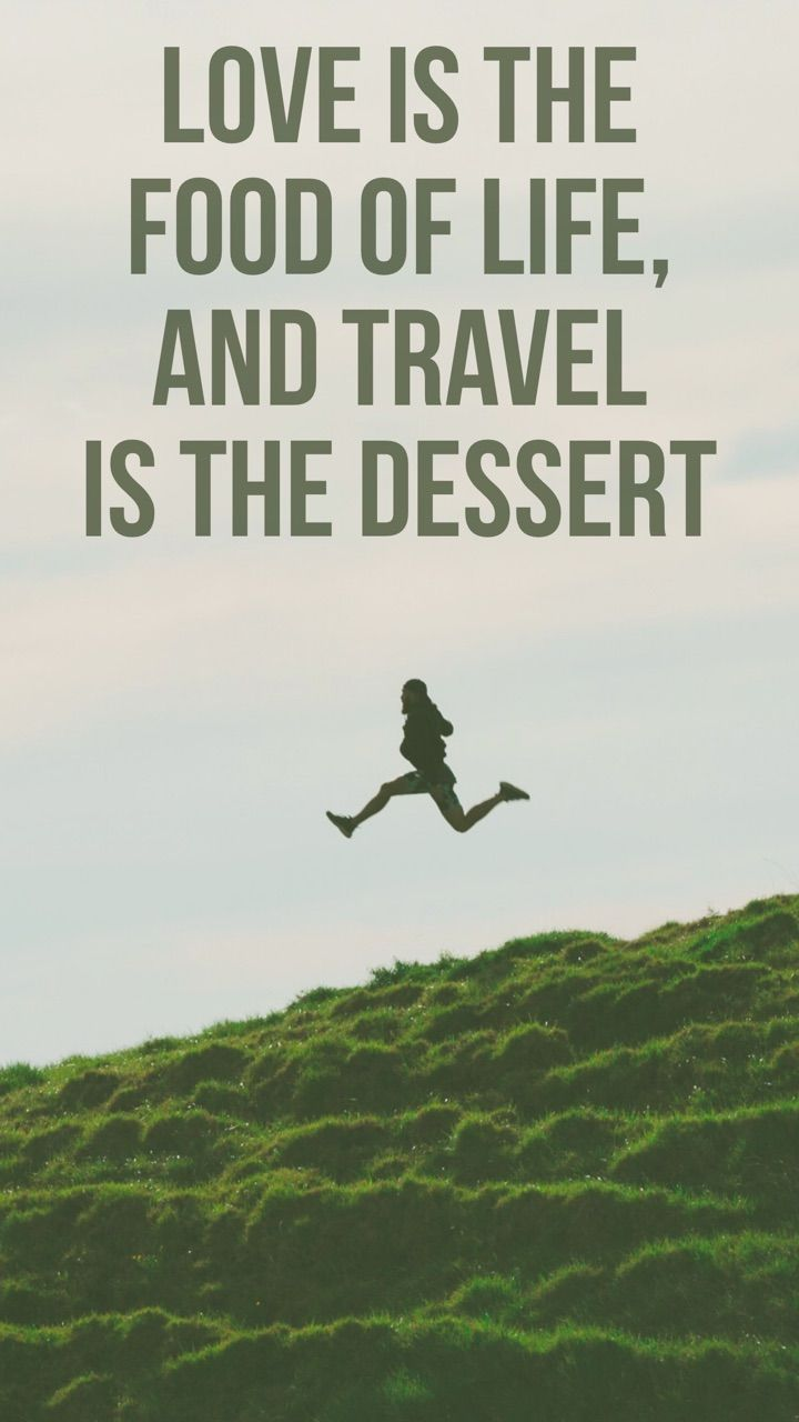 The best decision in life is to travel far and wide.