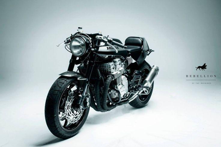 pinterest.com/fra411 #classic #motorbike -  Honda bol d'or 900
