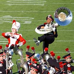 """The """"best damn band in the land"""" performs """"Script Ohio."""" If you don't get chills watching it, you're probably from Ann Arbor!"""