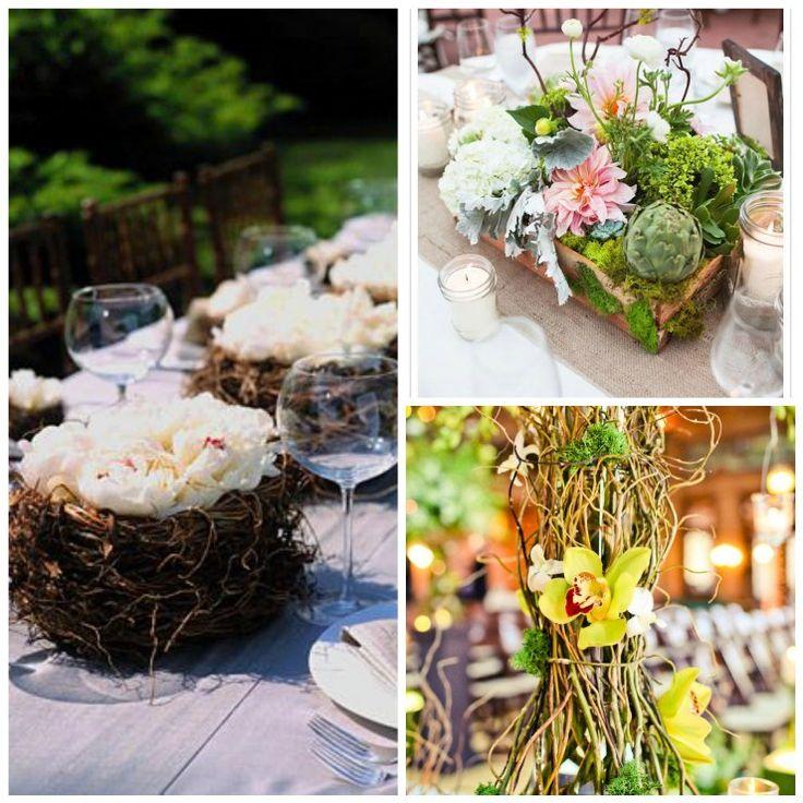 7 easy rustic wedding reception ideas uniquely yours for Simple wedding decoration ideas for reception