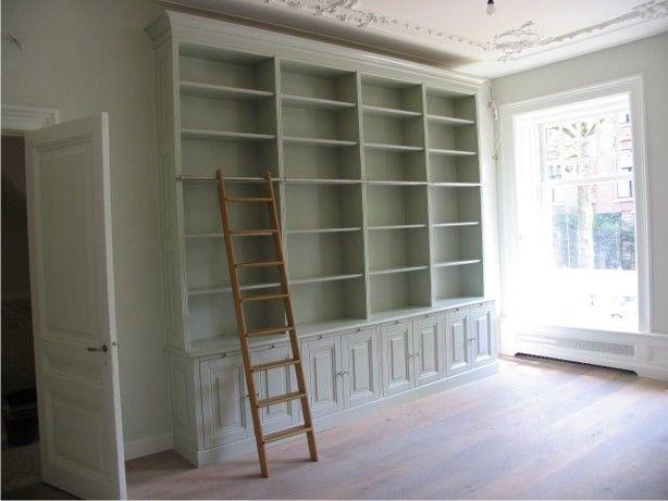 inbouw boekenkast woonkamer - Google zoeken