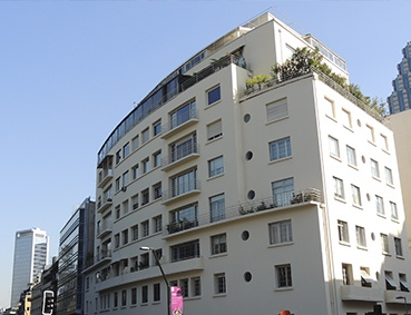 Edificio El Barco  (Santa Lucía, esquina Merced)