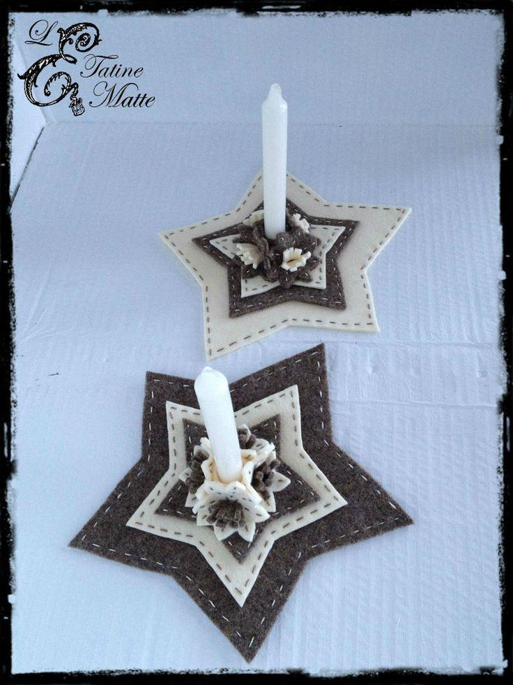 Stelle porta candele, by Le Tatine Matte, 24,00 € su misshobby.com