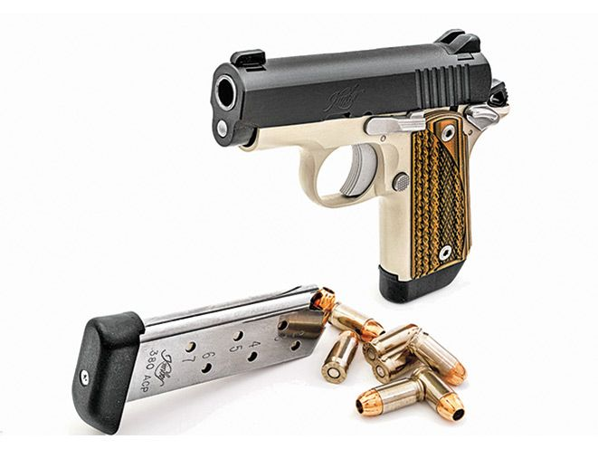 The Kimber Micro Advocate .380 offers 7+1 capacity in a pocket-friendly package.