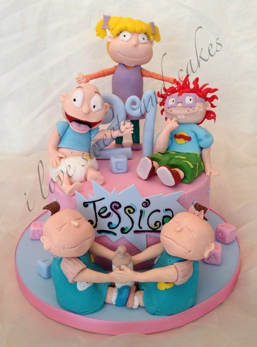 Lil Rugrats Birthday Cakes