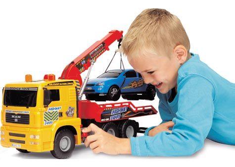 Pump Action Tow Truck - Cars, Trains & Cranes