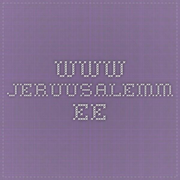 www.jeruusalemm.ee