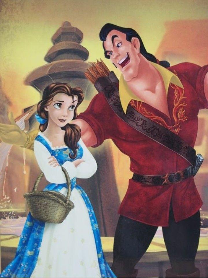 Belle And Gaston Cute Disney Pictures Disney Cuties Disney