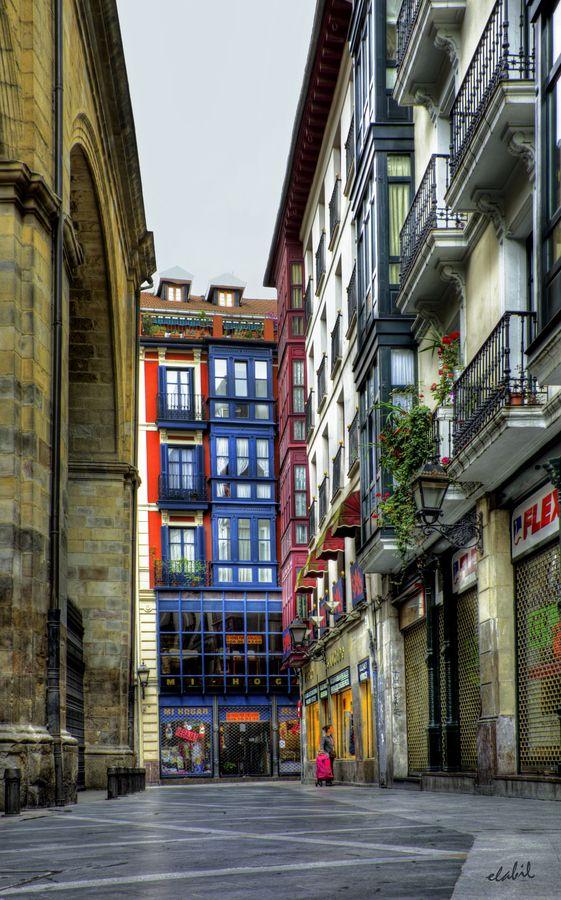 Calle de Bilbao by Eduardo Latorre, via 500px: Street, Favorite Places, Bilbao, Doors Windows, Eduardo Latorre, Photograph Calle, Art Inspirations, Cityscape Photography
